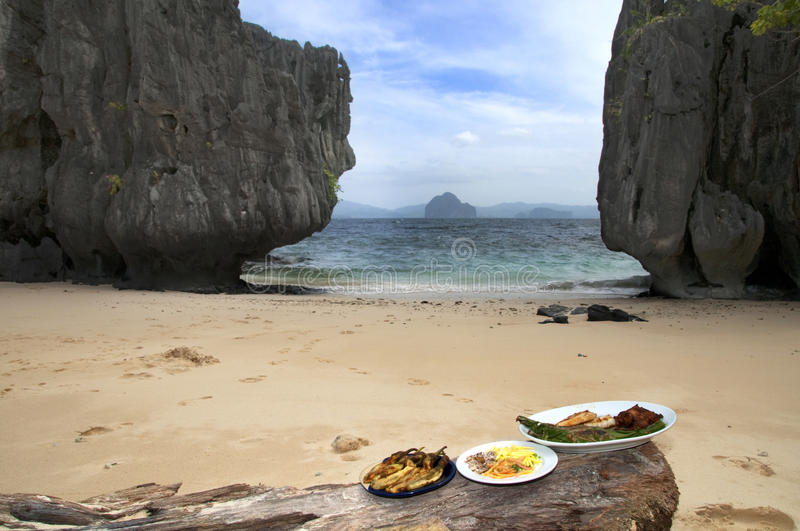 Download Lunch At The Beach Stock Photography - Image: 11293392