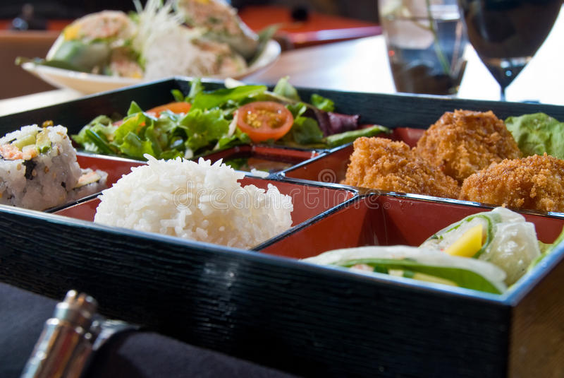 Lunch bento box royalty free stock photos