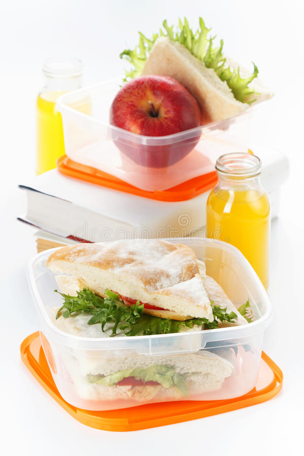 Download Lunch box stock image. Image of healthy, school, dinnertime - 21770447