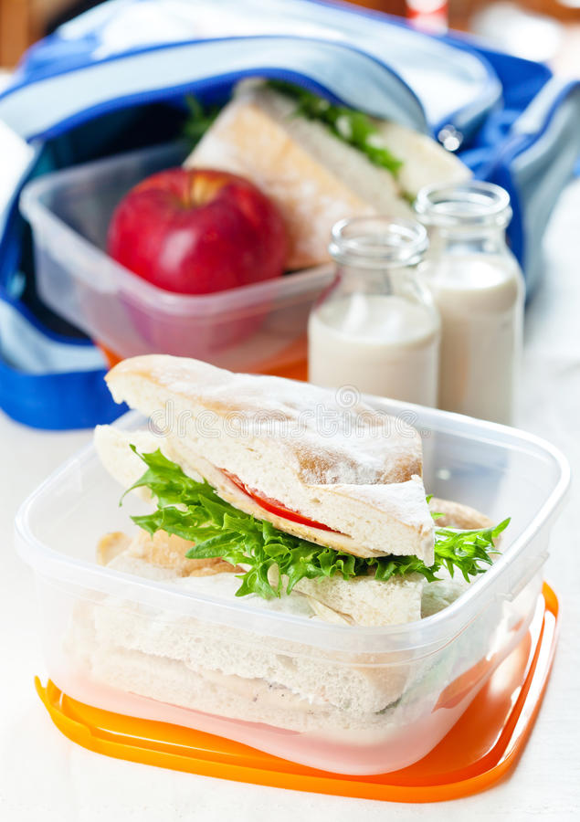 Download Lunch Box Royalty Free Stock Images - Image: 27008469
