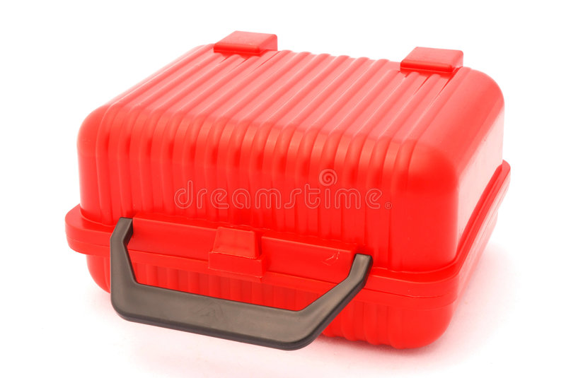Download Lunch box stock image. Image of grip, plastic, isolated - 4171719