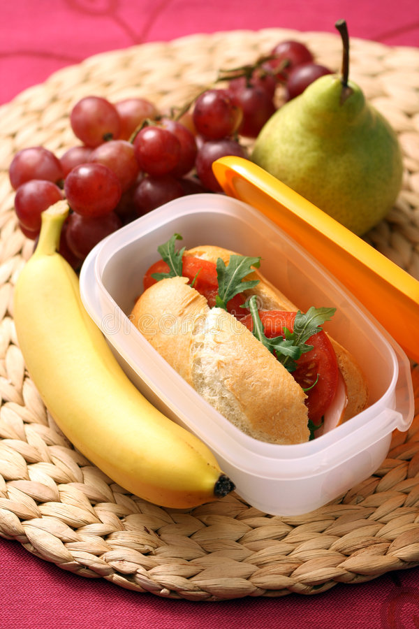 Download Lunch box stock photo. Image of whole, breakfast, rucola - 9270988