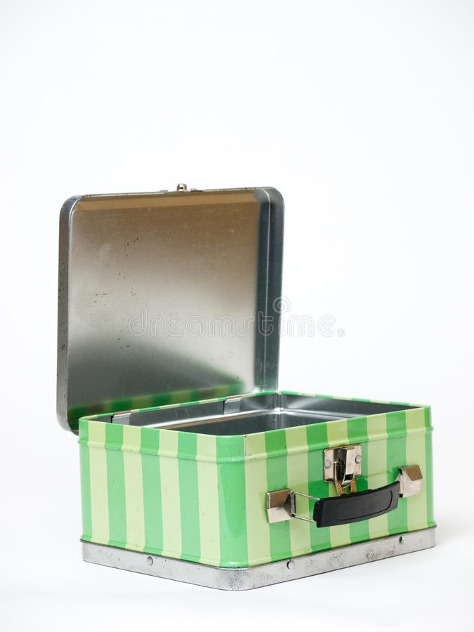 Download Lunch Box Lid Up stock image. Image of retro, container - 23842957