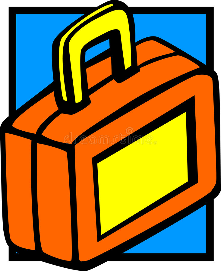 Download Lunch Box Vector Illustration Stock Vector - Illustration of container, handle: 3075368
