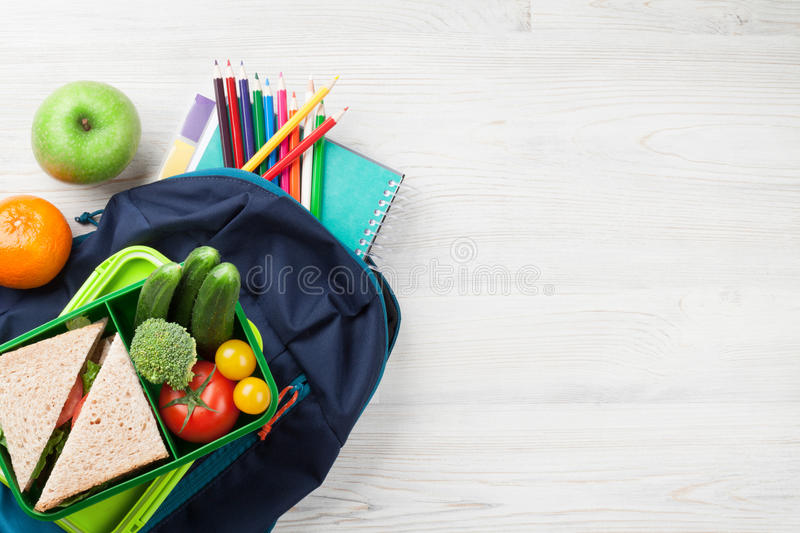 Lunch box stock photography