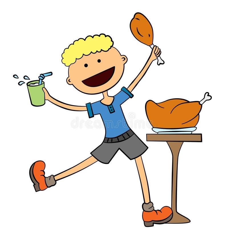 Download Lunch break stock illustration. Illustration of smile - 25089249