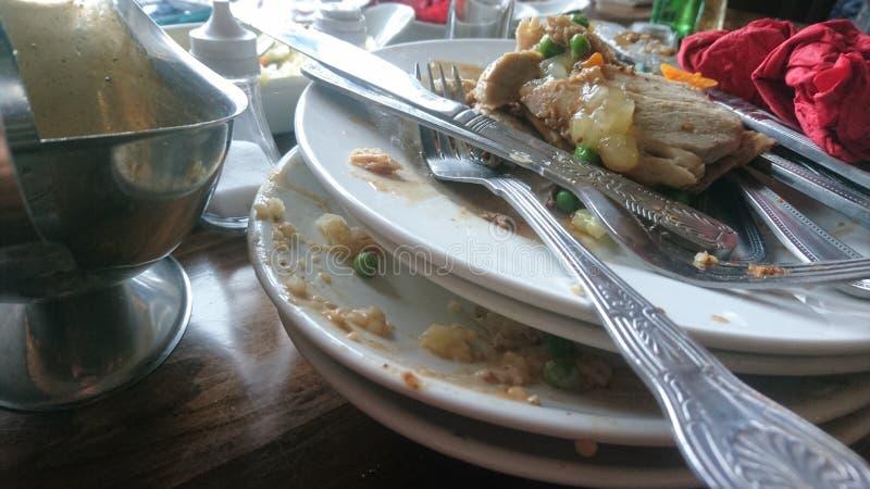 Lunch för bar för söndag stekmatställe arkivbild