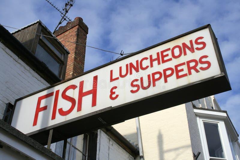 lunch kolacje ryb fotografia royalty free