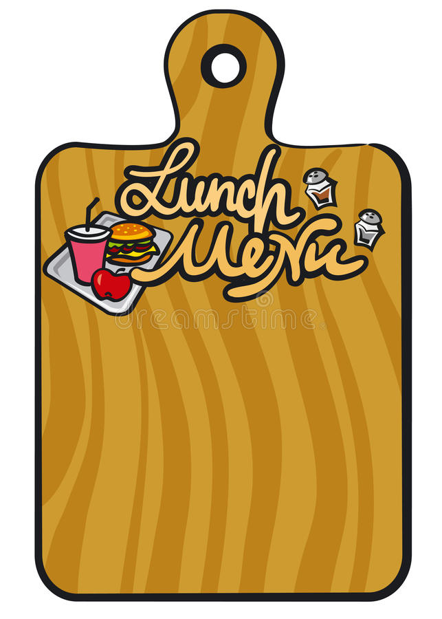 Download Lunch Menu Royalty Free Stock Images - Image: 28410419
