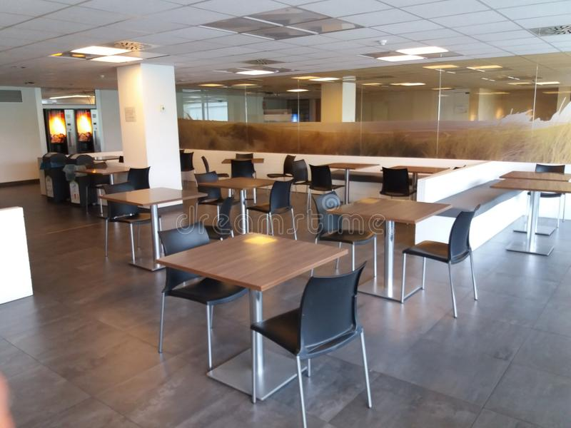 Lunch room royalty free stock photos