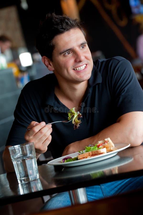 Lunch tillsammans royaltyfria bilder