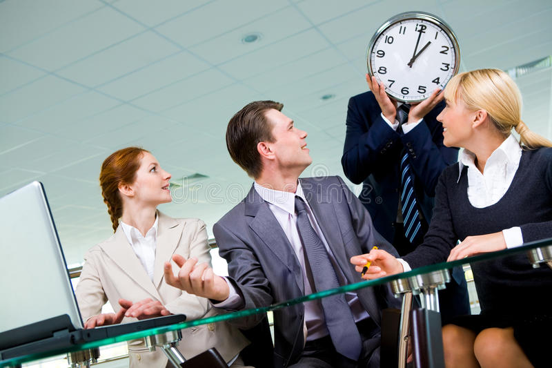 Download Lunch time stock image. Image of associate, confident - 12134457