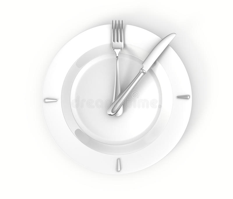 Download Lunch time concept stock illustration. Illustration of background - 27280648