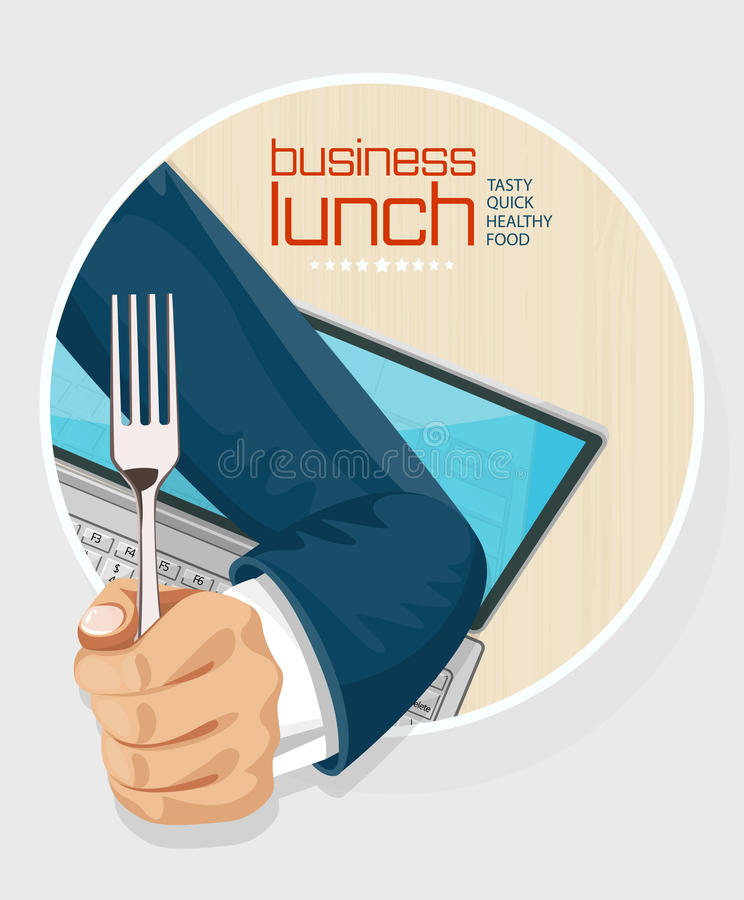 Free Lunch Time Concept Design Stock Photos - 58762723