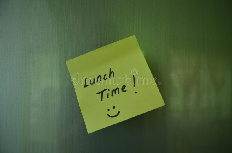 Lunch time stock images