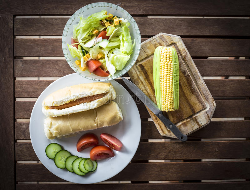 Lunch Time royalty free stock images