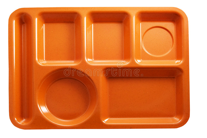Lunch tray royalty free stock photos