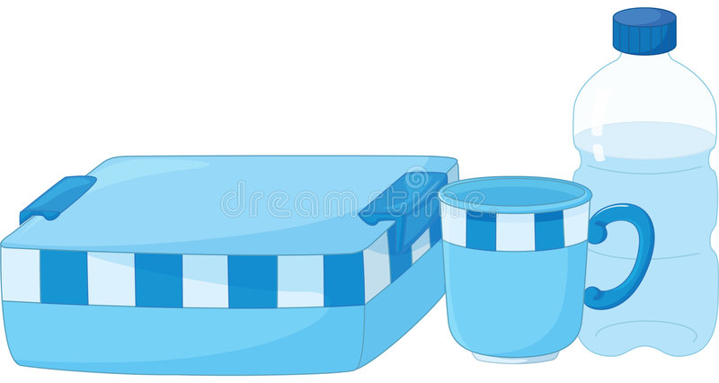 Download Lunchbox stock vector. Illustration of lunchbox, graphic - 7793299