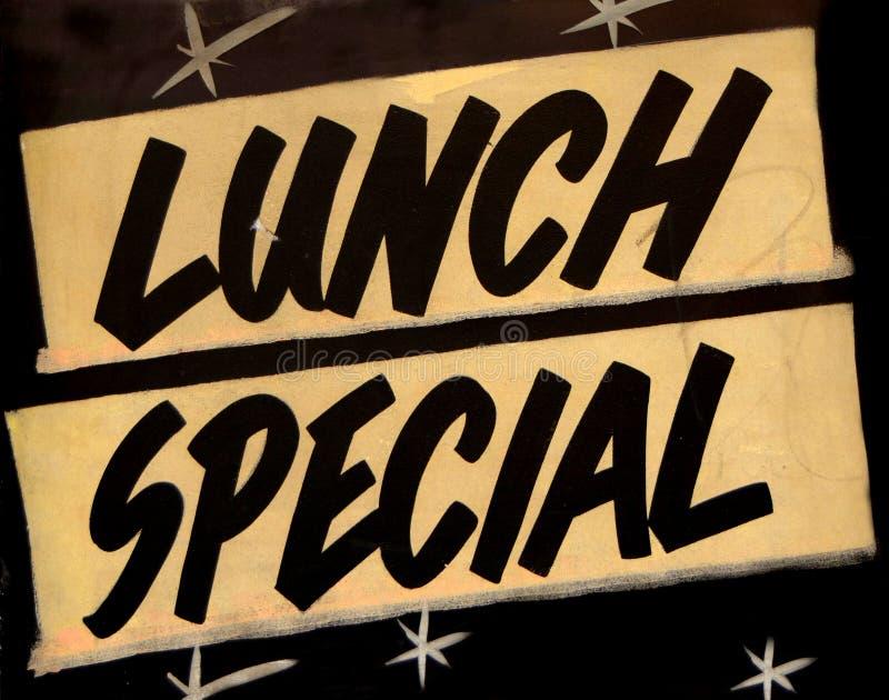 Lunchu Dodatek specjalny Kawiarnia obrazy stock