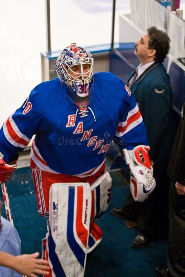 Lundquist sale del hielo foto de archivo