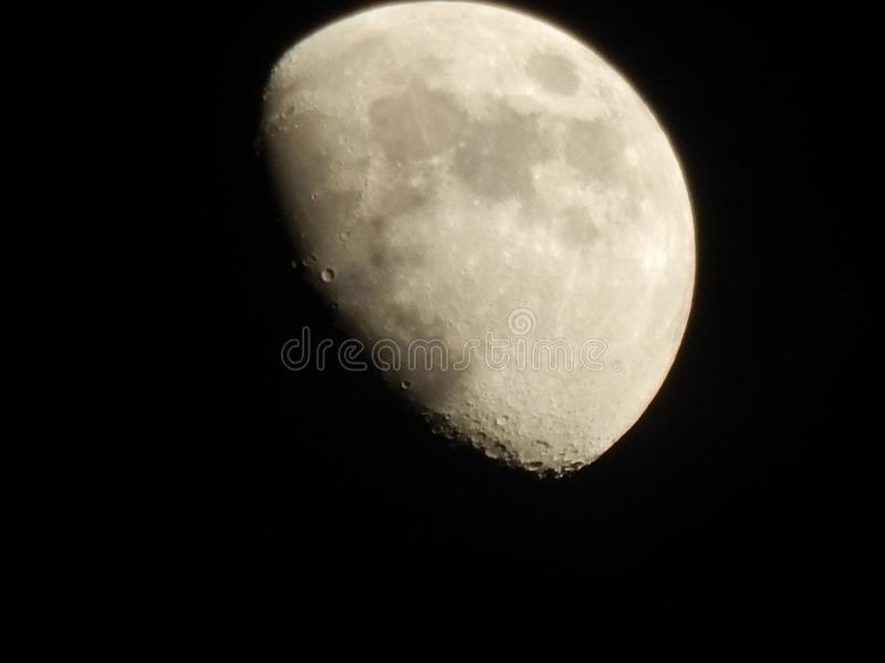 Lune photographie stock