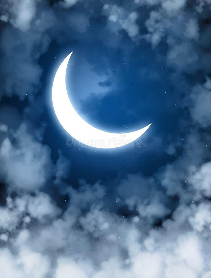 Lune illustration de vecteur