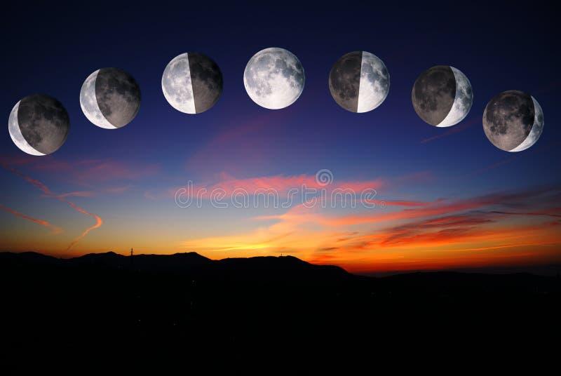 Lune immagini stock libere da diritti