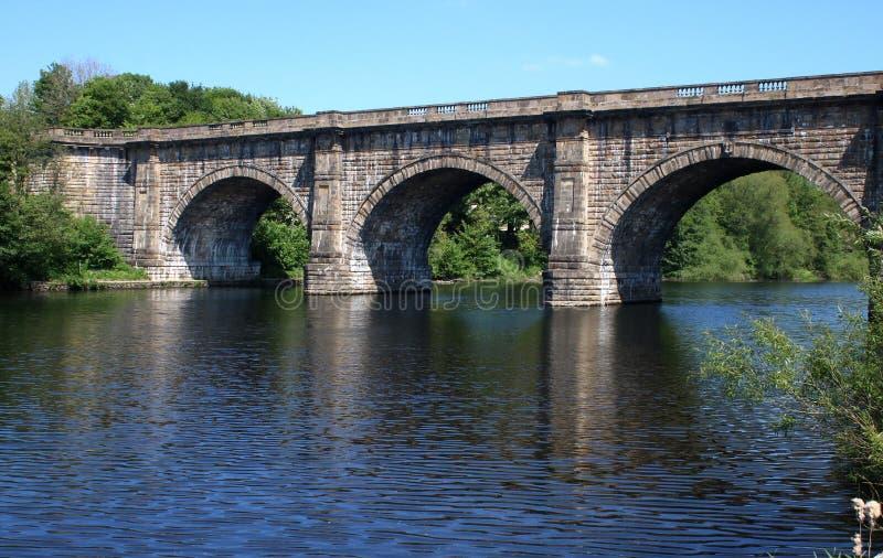 Lune akwedukt, Lancaster kana? nad Rzecznym Lune zdjęcia royalty free