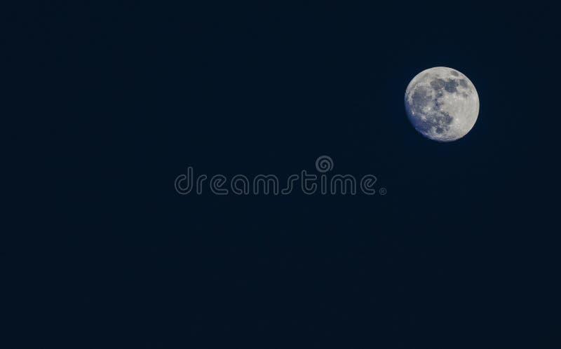 Lune argentée photos libres de droits