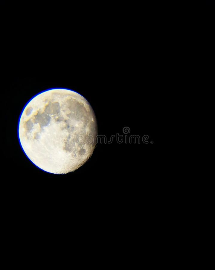 Lune blanche images stock