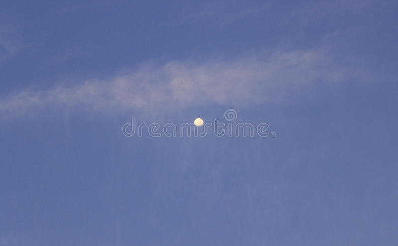 Lune bleue images stock