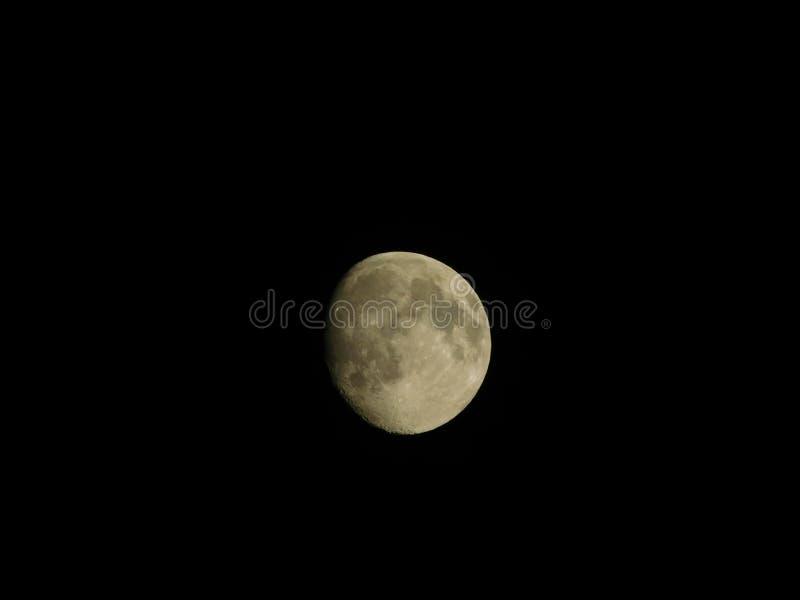 Lune d'été photographie stock