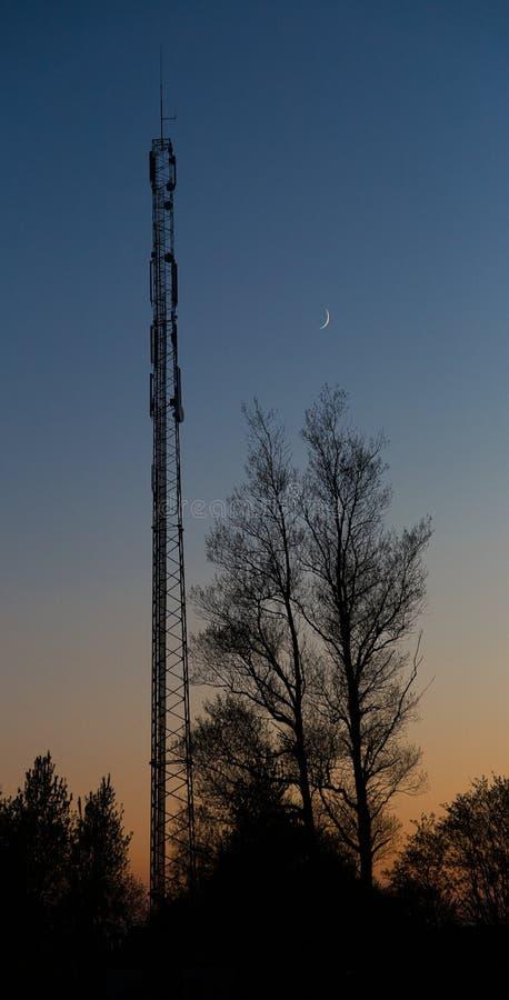 Lune d'antenne photos stock