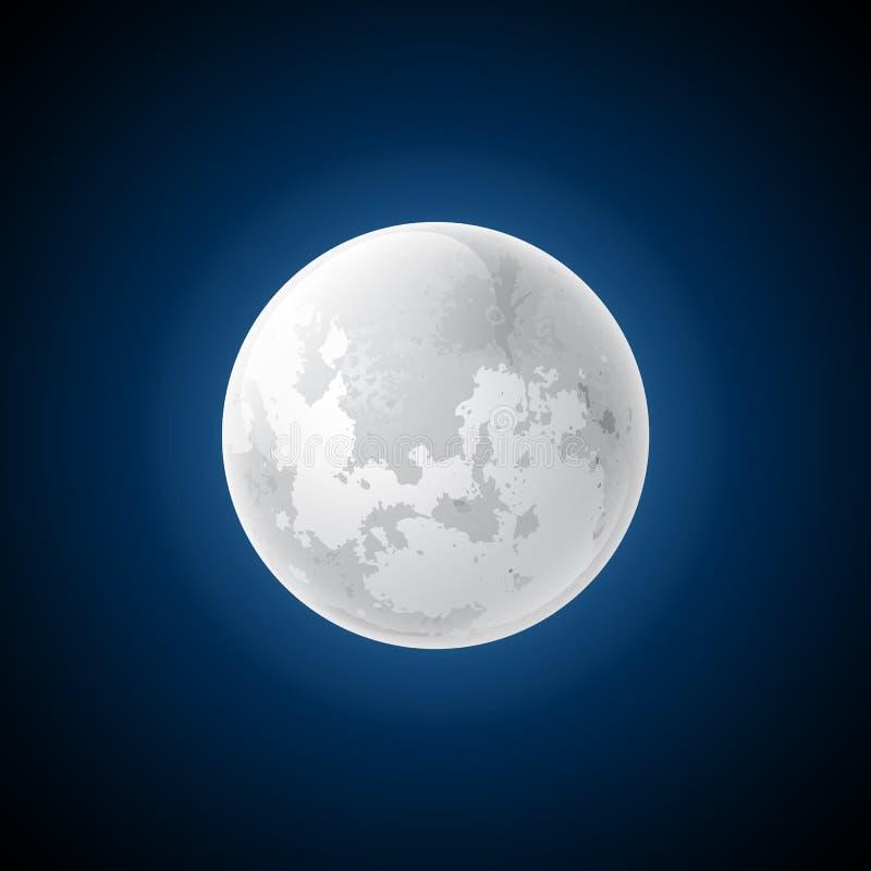 Lune de vecteur illustration stock