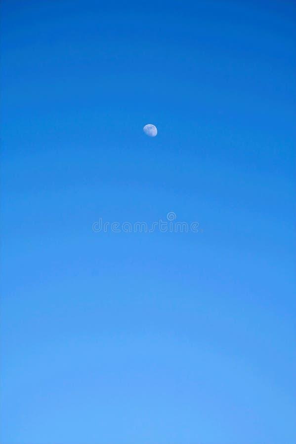 Lune en ciel image libre de droits