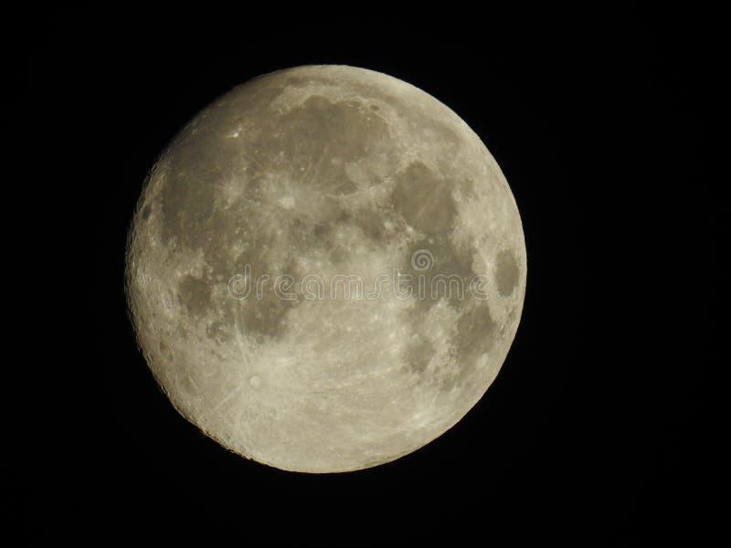 Lune la nuit photos stock