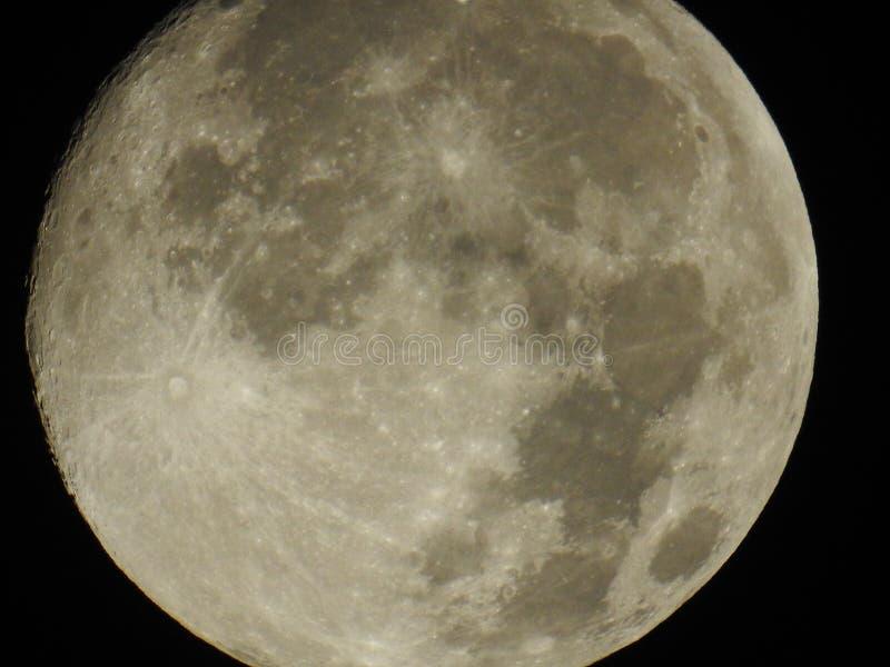 Lune la nuit photo libre de droits