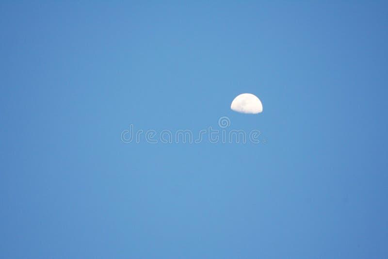 Lune le soir image stock