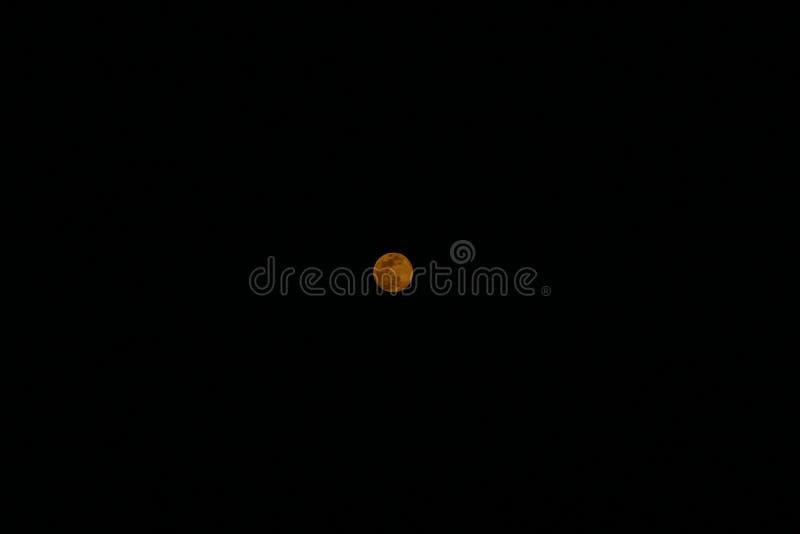 Lune mythique d'Eilat photos stock