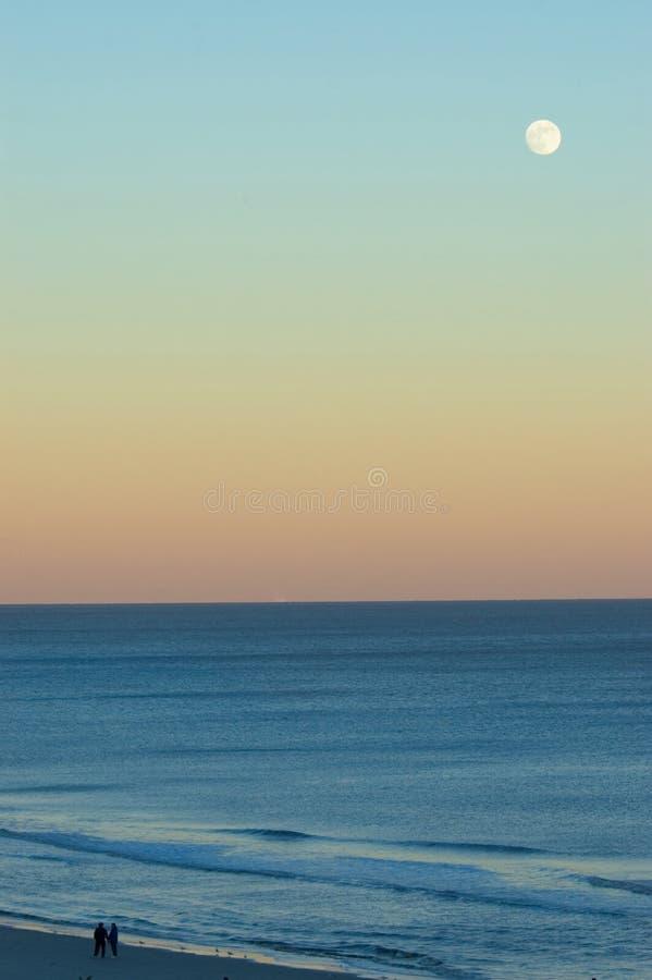 Lune romantique photo libre de droits