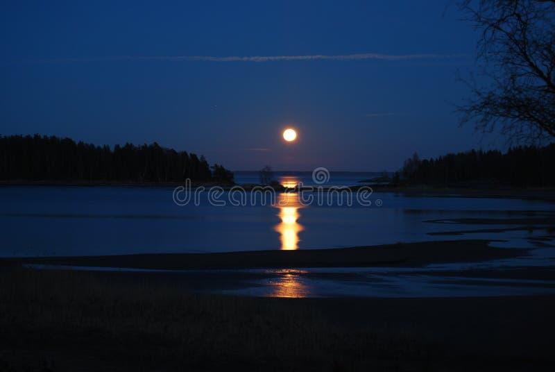 Lune suédoise photographie stock