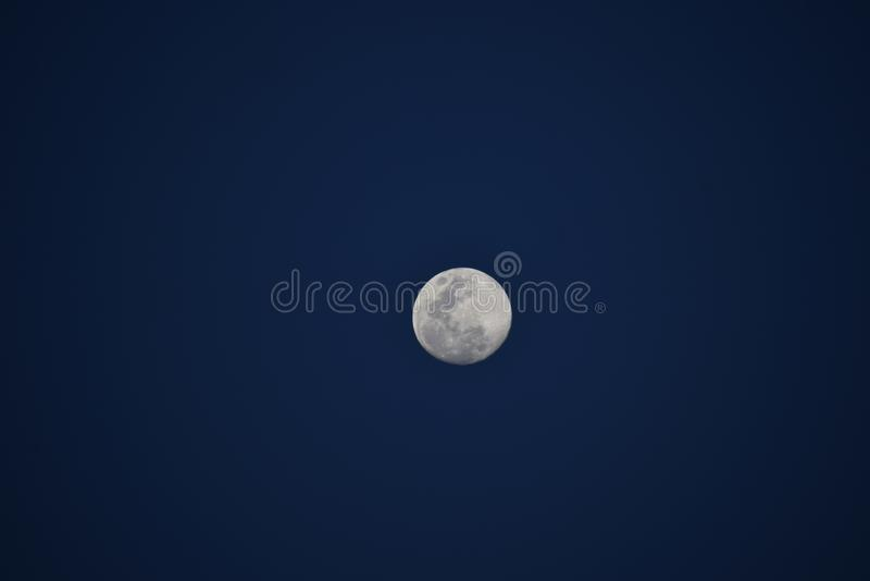 Lune superbe photographie stock