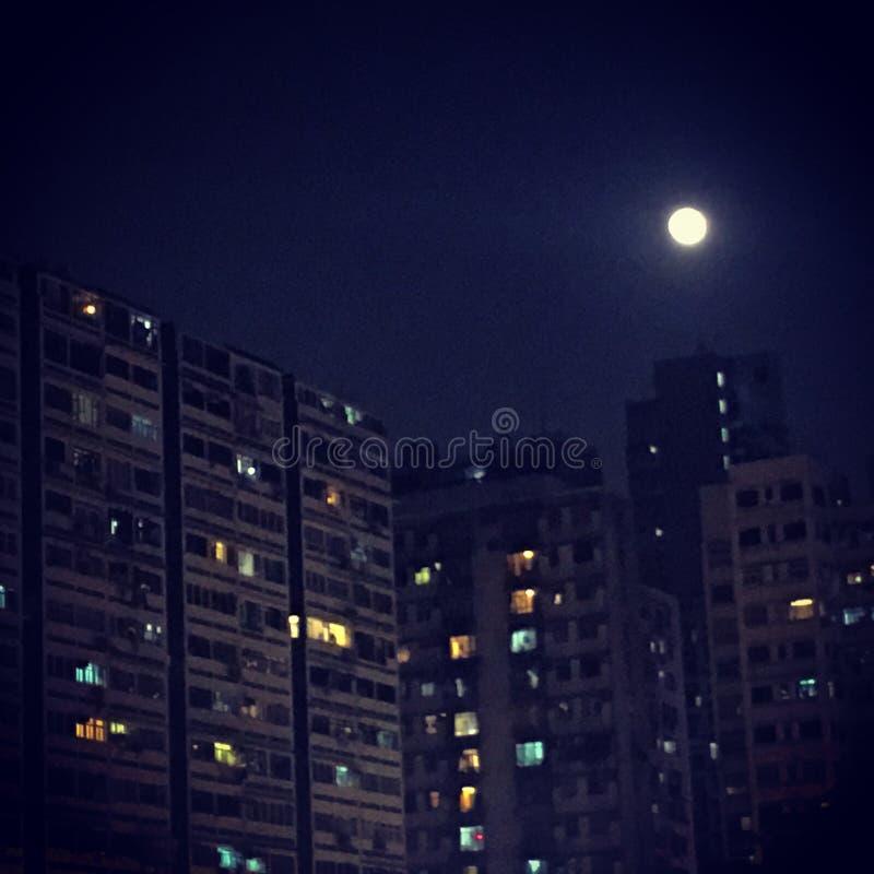 Lune superbe images libres de droits