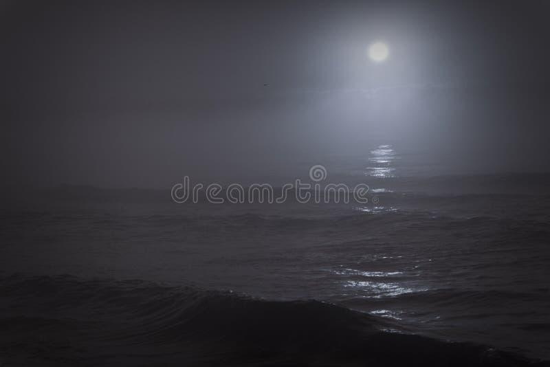 Lune triste photo libre de droits
