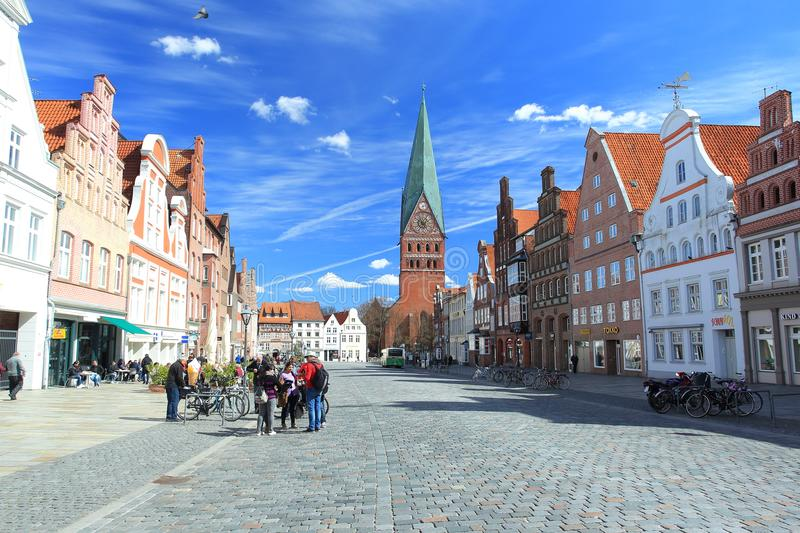 Luneburg royalty free stock image