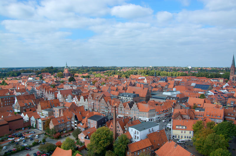 Luneburg LowerSaxony Germany Editorial Stock Image Image of
