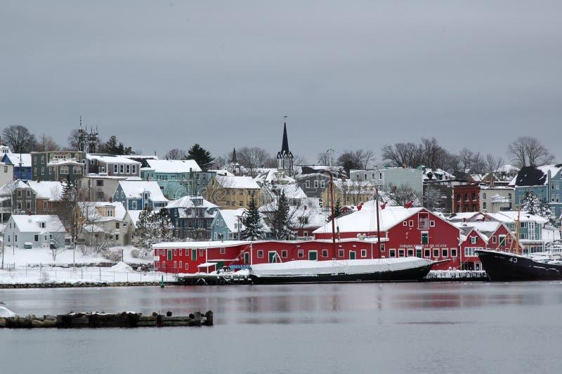 Download Lunenberg foto de stock. Imagem de inverno, halifax, água - 527242
