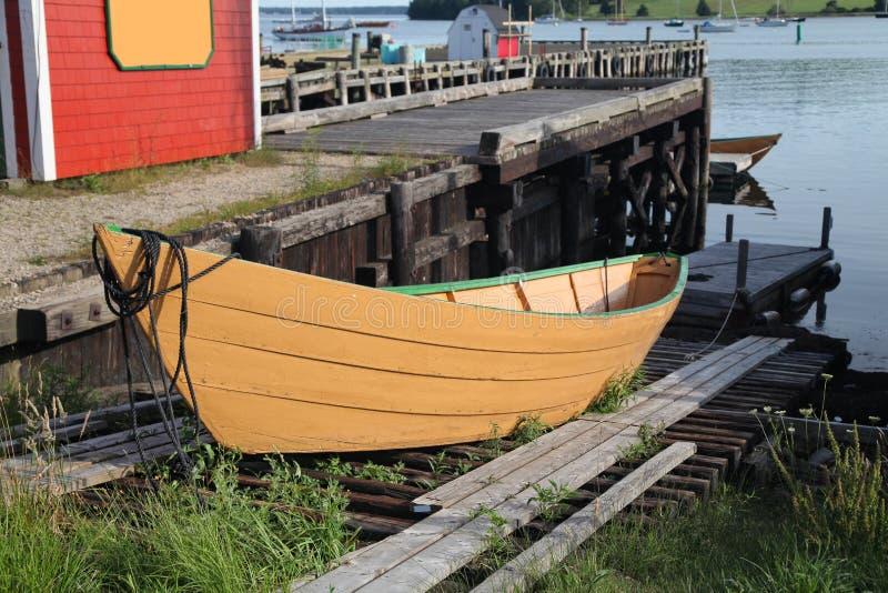 Download Lunenburg Dory stock photo. Image of atlantic, nova, fishing - 21639822