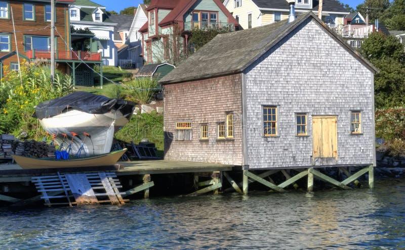 Lunenburg, Nova Escócia, Canadá fotos de stock