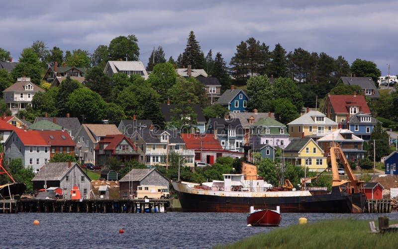 Lunenburg, Nova Scotia immagini stock libere da diritti